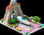 Silver Tsubame Locomotive Arch