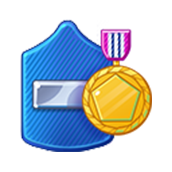 Badge Military Level 50