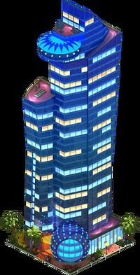 Qatar Trading Center (Night)