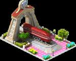 Silver Landlord Locomotive Arch