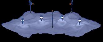 Snowville Track Curve EW 2 Snow