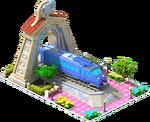 Silver Sonic Locomotive Arch