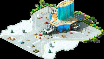 Terminal Hotel Construction