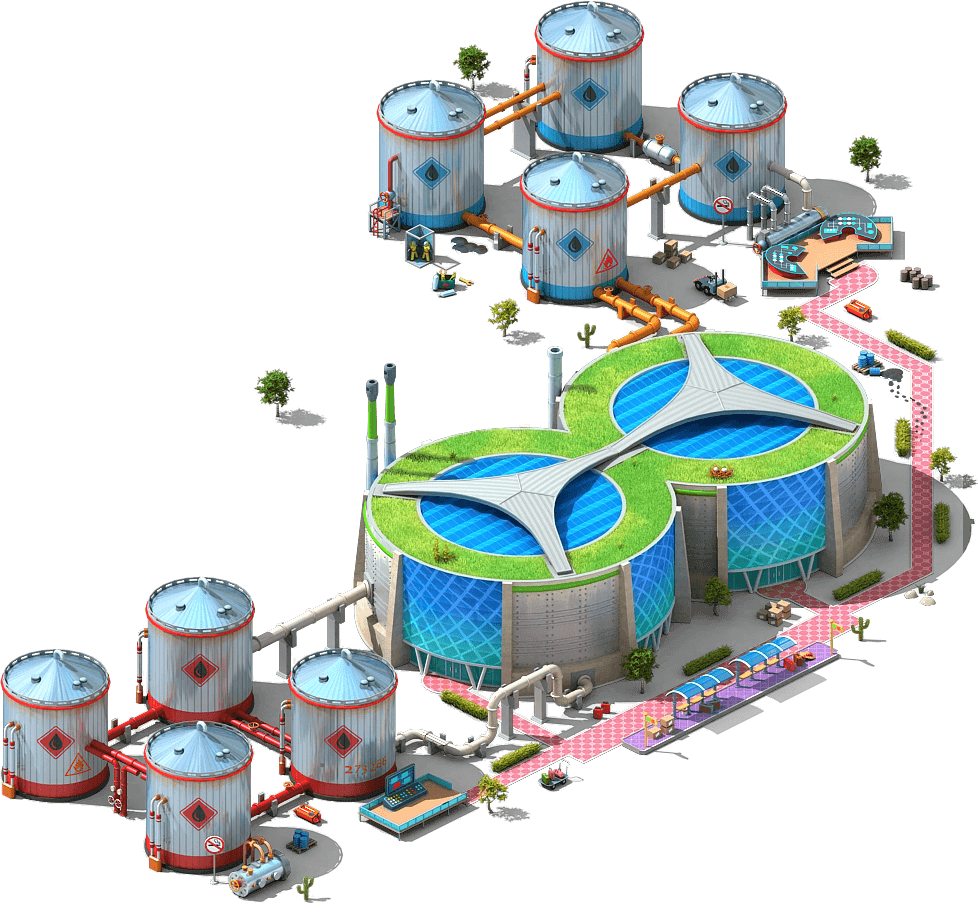 Additional Oil Depot