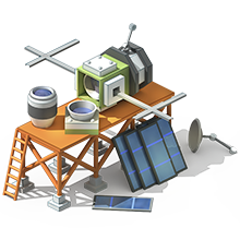 SS-23 Reconnaissance Satellite Construction