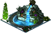Stone Pond (Night)