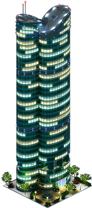 Highcliff Skyscraper (Night)