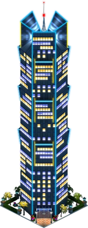 Palm Tower (Night)