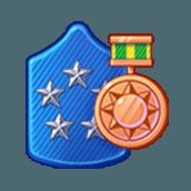 Badge Military Level 89