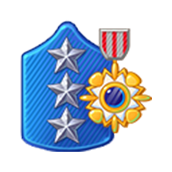 Badge Military Level 81