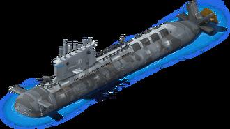 DS-67 Diesel Submarine L1