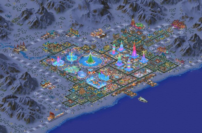 Snowville II Gamemap