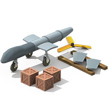 UAV-10 Unmanned Aircraft Construction