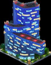 Gas Company Headquarters (Night)
