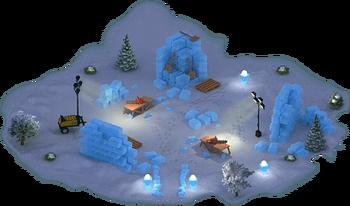 Ice Palace Construction