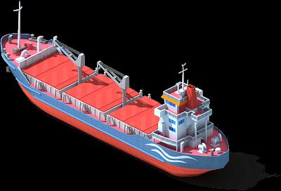 Wharf (Ship) Undocked