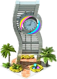 City of the Future Clock