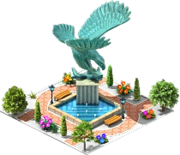 Eagle Fountain