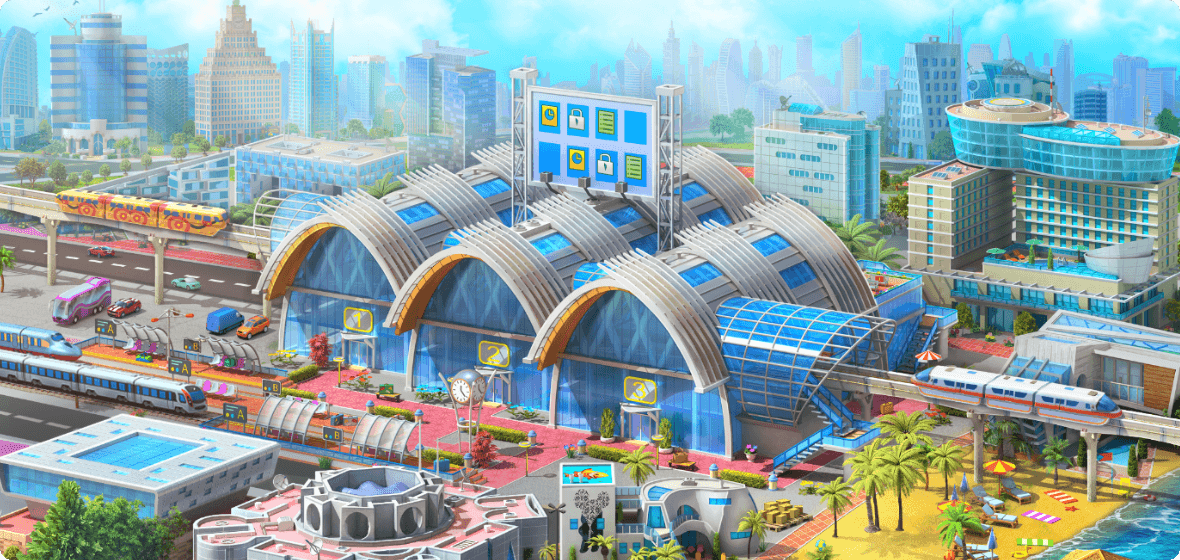 Miami Main Station Background