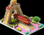 Gold Landlord Locomotive Arch