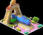 Gold Sonic Locomotive Arch