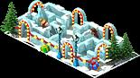 Pedestal Snow Labyrinth