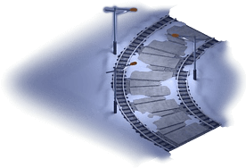 Snowville Track Curve NS 1