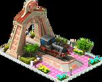Bronze Aurora Locomotive Arch