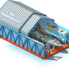 Coastal Defense Ships Conveyor