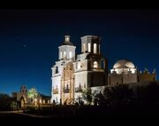 RealWorld Mission San Xavier del Bac (Night)