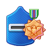 Badge Military Level 41