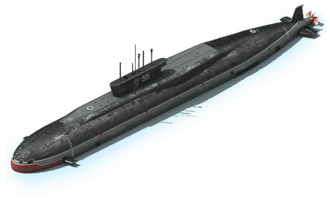 NS-12 Nuclear Submarine L1