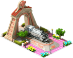 Bronze BR-86 Locomotive Arch