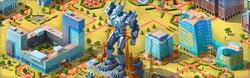 Giant Robot Background