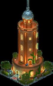 Lagan Water Tower (Night)