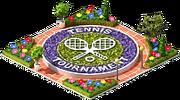 Tennis Flowerbed