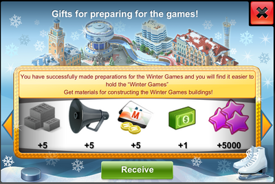 Quest Winter Games Additional Gift
