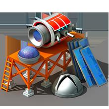 SS-50 Reconnaissance Satellite Construction