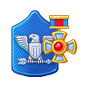 Badge Military Level 67