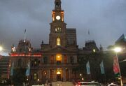 RealWorld Sydney Town Hall (Night)