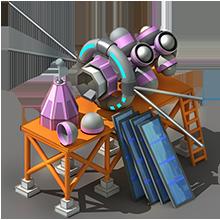 NS-35 Navigation Satellite Construction