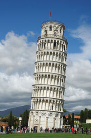 RealWorld Leaning Tower of Pisa
