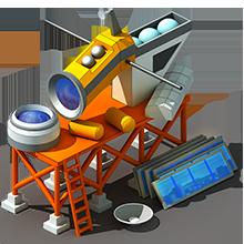 SS-45 Reconnaissance Satellite Construction