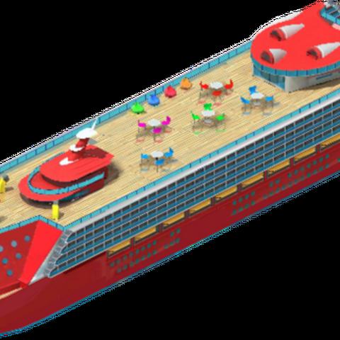 Christmas Cruise Ship (Level 0)
