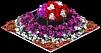 Ladybug Flowerbed