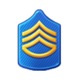 Badge Military Level 9