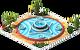 Decoration Roche Fountain