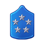 Badge Military Level 88