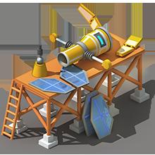 NS-11 Navigation Satellite Construction