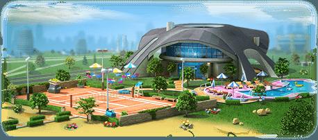 Tennis Country Club Artwork